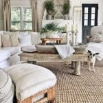 50 Cozy Farmhouse Living Room Design And Decor Ideas (31)