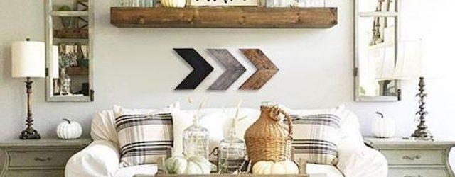 50 Cozy Farmhouse Living Room Design and Decor Ideas (35)
