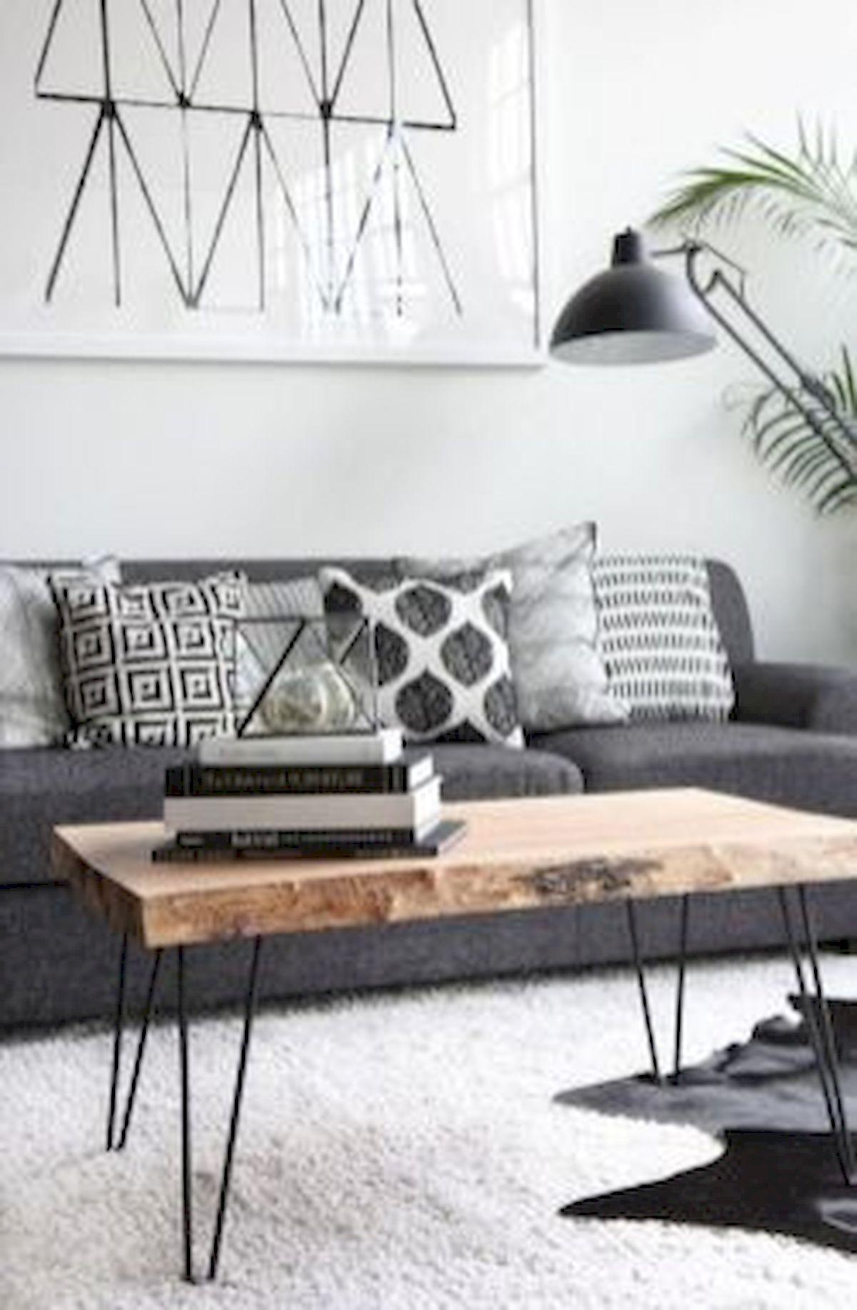 50 Cozy Farmhouse Living Room Design and Decor Ideas (40)