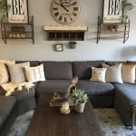 50 Cozy Farmhouse Living Room Design And Decor Ideas (45)