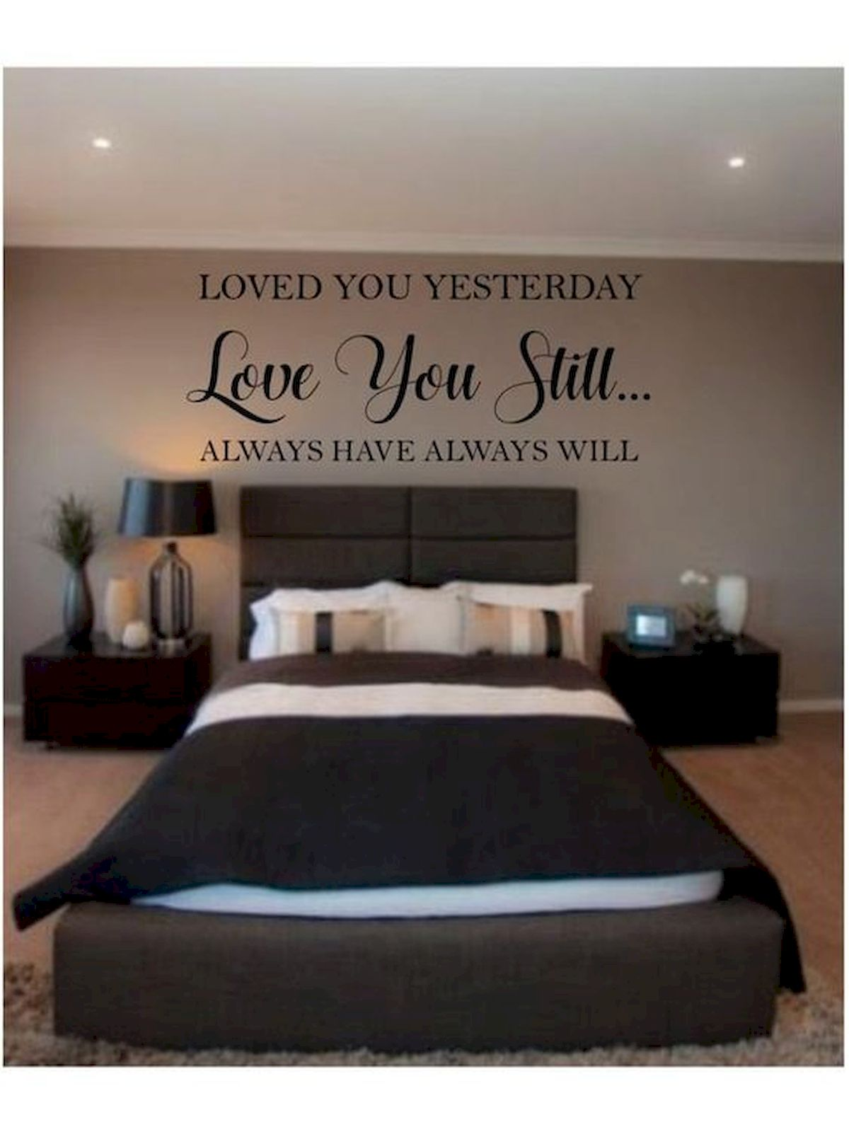 Couple Bedroom Design: 55 Romantic Bedroom Decor For Couple (53)