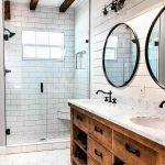 60 Stunning Farmhouse Bathroom Decor and Design Ideas (1)