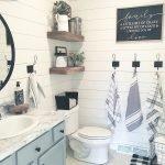 60 Stunning Farmhouse Bathroom Decor and Design Ideas (13)