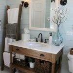 60 Stunning Farmhouse Bathroom Decor and Design Ideas (16)