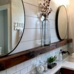 60 Stunning Farmhouse Bathroom Decor and Design Ideas (19)