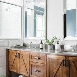 60 Stunning Farmhouse Bathroom Decor and Design Ideas (2)