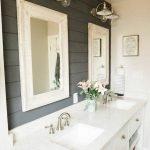 60 Stunning Farmhouse Bathroom Decor and Design Ideas (20)