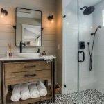 60 Stunning Farmhouse Bathroom Decor and Design Ideas (21)