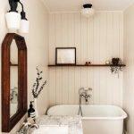60 Stunning Farmhouse Bathroom Decor and Design Ideas (22)