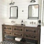 60 Stunning Farmhouse Bathroom Decor and Design Ideas (25)