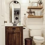 60 Stunning Farmhouse Bathroom Decor and Design Ideas (28)
