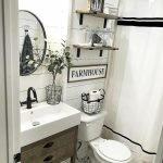 60 Stunning Farmhouse Bathroom Decor and Design Ideas (39)