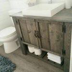 60 Stunning Farmhouse Bathroom Decor and Design Ideas (41)