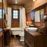 60 Stunning Farmhouse Bathroom Decor and Design Ideas (42)