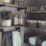 60 Stunning Farmhouse Bathroom Decor and Design Ideas (44)