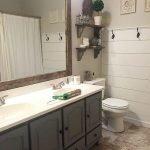 60 Stunning Farmhouse Bathroom Decor and Design Ideas (46)