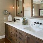 60 Stunning Farmhouse Bathroom Decor and Design Ideas (48)