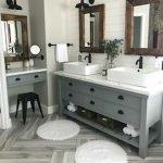 60 Stunning Farmhouse Bathroom Decor and Design Ideas (52)