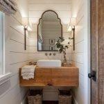 60 Stunning Farmhouse Bathroom Decor and Design Ideas (54)