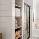 60 Stunning Farmhouse Bathroom Decor and Design Ideas (55)