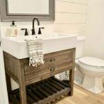 60 Stunning Farmhouse Bathroom Decor and Design Ideas (6)