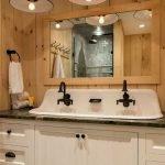 60 Stunning Farmhouse Bathroom Decor and Design Ideas (60)