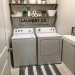 40 Cozy Laundry Room Design and Decor Ideas for Your Home (19)