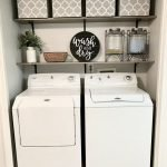 40 Cozy Laundry Room Design and Decor Ideas for Your Home (22)