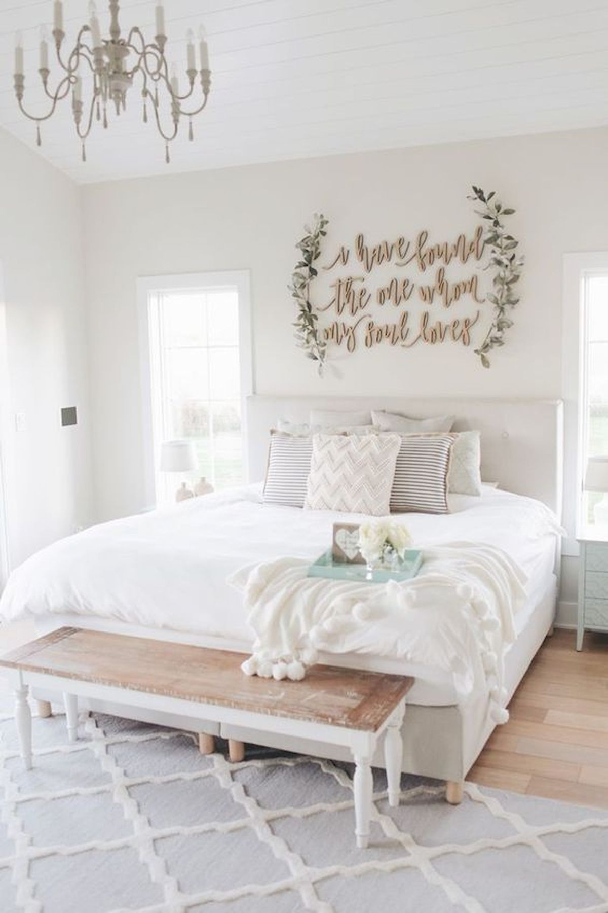50 Awesome Wall Decor Ideas for bedroom (47)