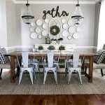 50 Awesome Wall Decoration Ideas For Dinning Room (1)