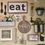 50 Awesome Wall Decoration Ideas For Dinning Room (14)