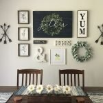 50 Awesome Wall Decoration Ideas For Dinning Room (15)