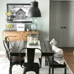50 Awesome Wall Decoration Ideas For Dinning Room (16)