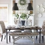 50 Awesome Wall Decoration Ideas For Dinning Room (38)