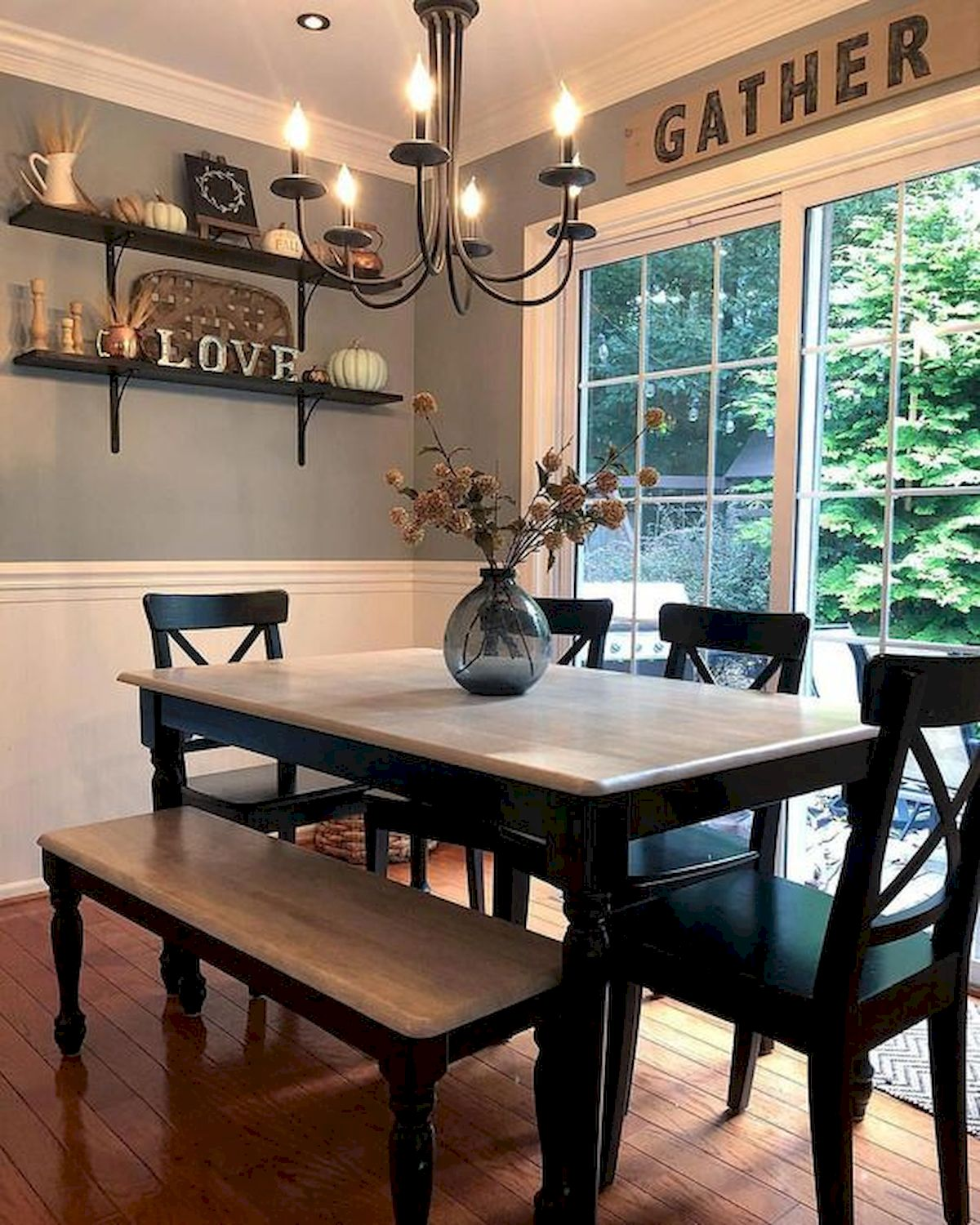50 Awesome Wall Decoration Ideas For Dinning Room (4)