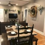 50 Awesome Wall Decoration Ideas For Dinning Room (43)