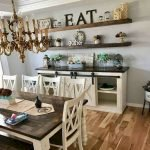 50 Awesome Wall Decoration Ideas For Dinning Room (48)