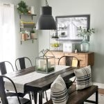 50 Awesome Wall Decoration Ideas For Dinning Room (49)