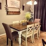 50 Awesome Wall Decoration Ideas For Dinning Room (9)