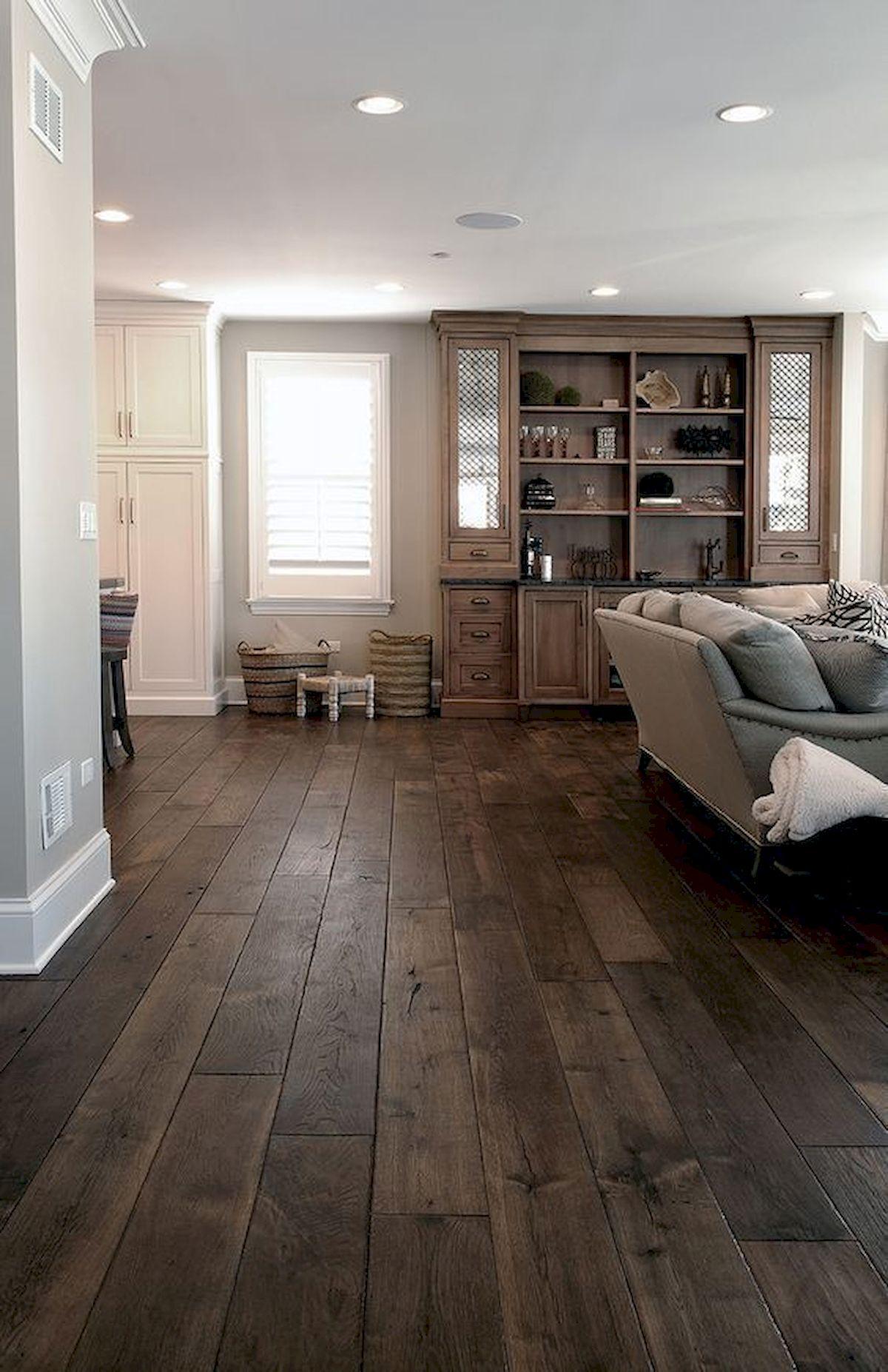 80 Gorgeous Hardwood Floor Ideas for Interior Home (10)