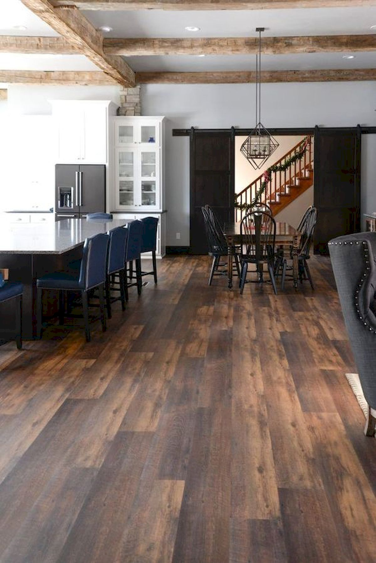 80 Gorgeous Hardwood Floor Ideas for Interior Home (14)