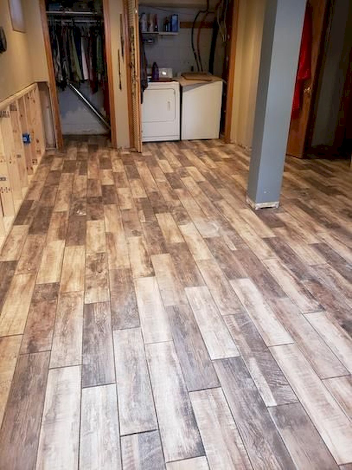 80 Gorgeous Hardwood Floor Ideas for Interior Home (15)