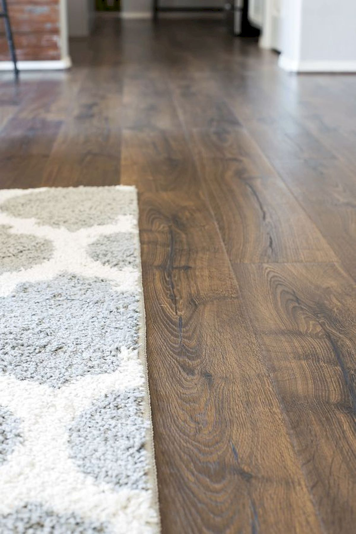 80 Gorgeous Hardwood Floor Ideas for Interior Home (19)