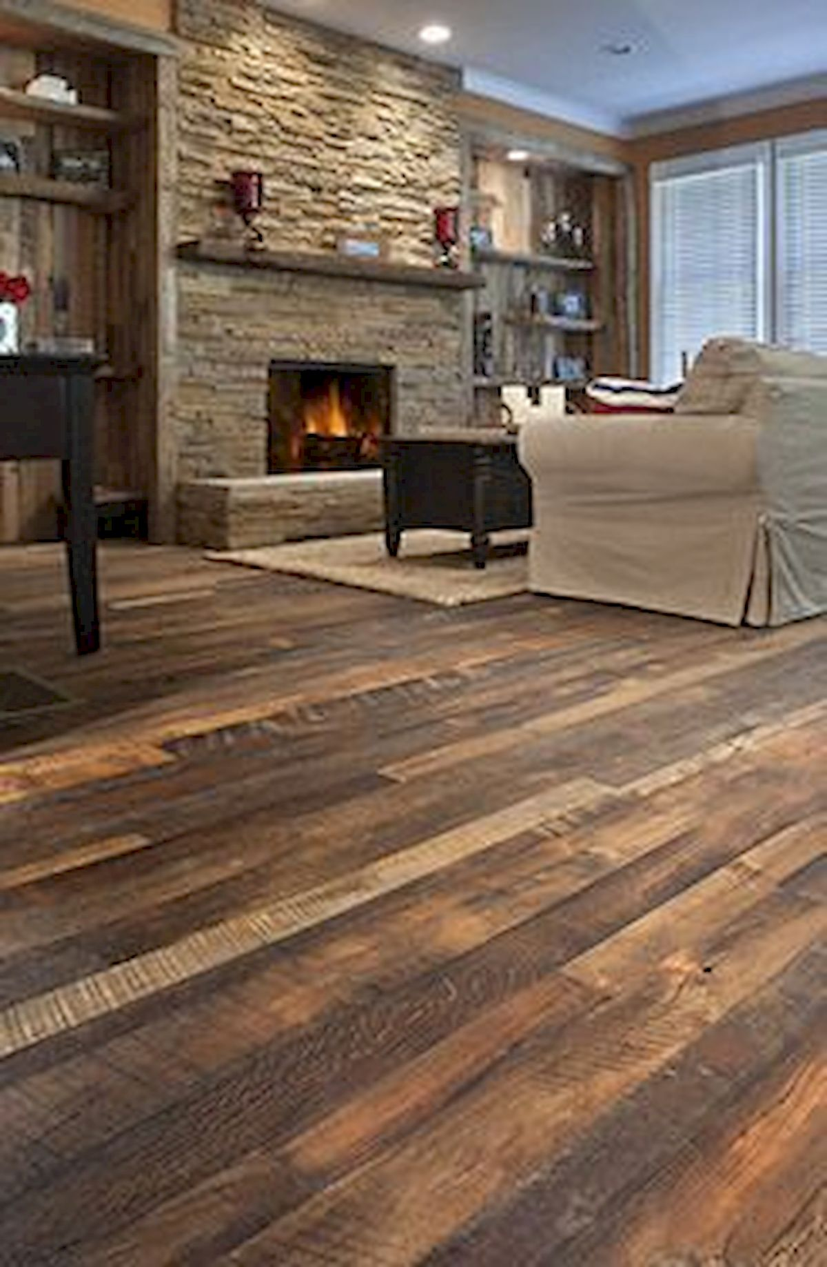 80 Gorgeous Hardwood Floor Ideas for Interior Home (20)