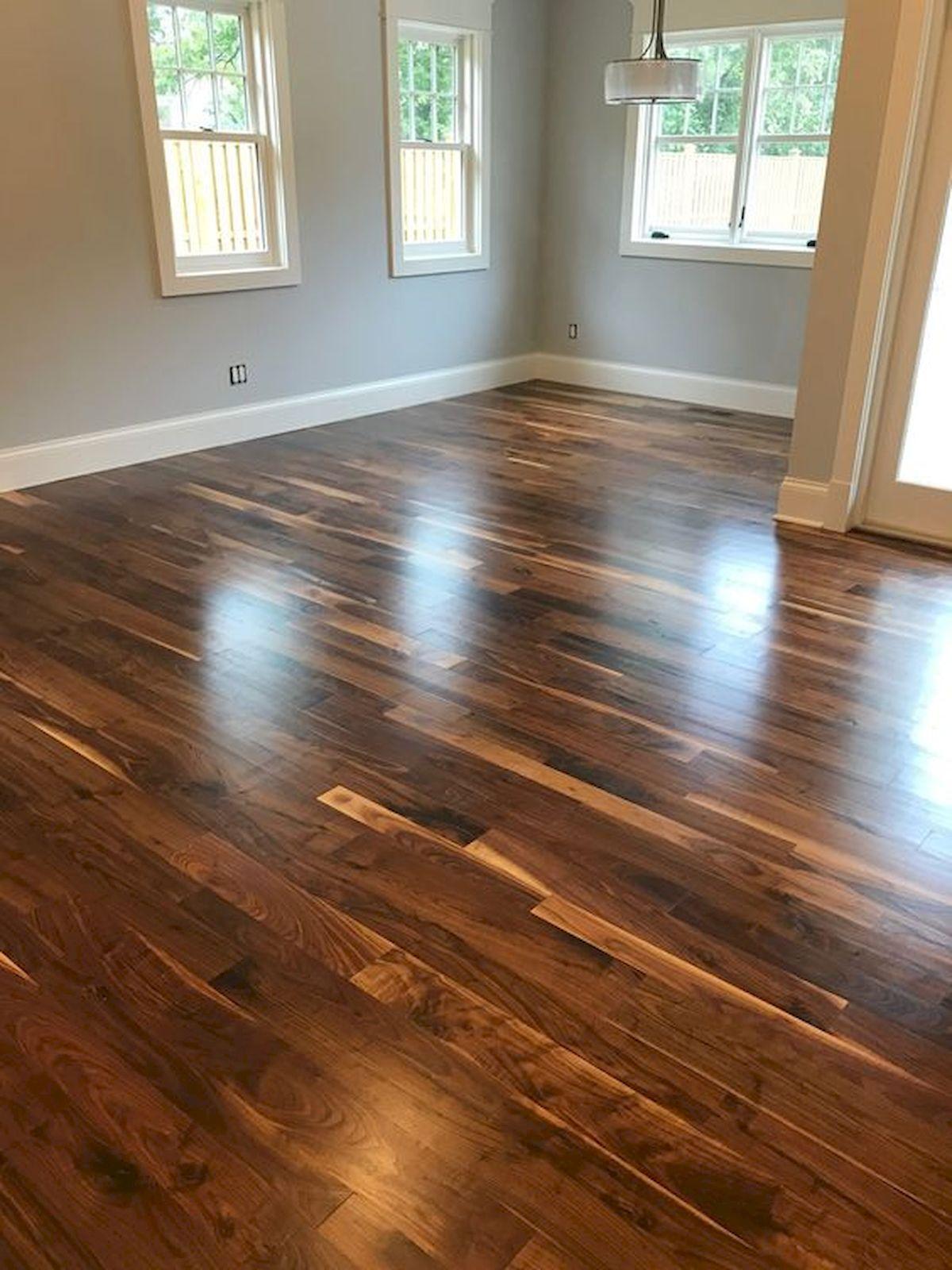 80 Gorgeous Hardwood Floor Ideas for Interior Home (21)
