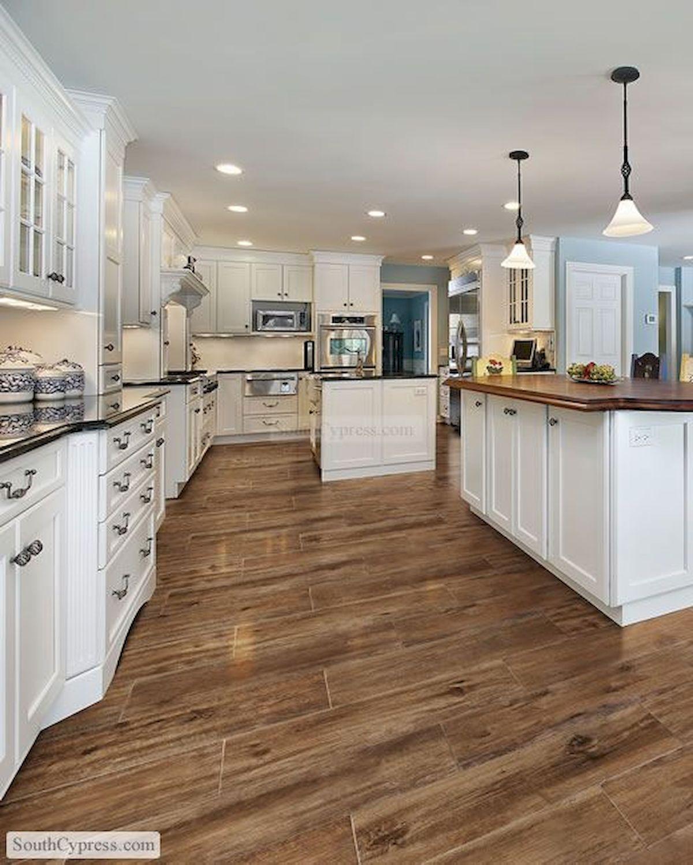 80 Gorgeous Hardwood Floor Ideas for Interior Home (23)