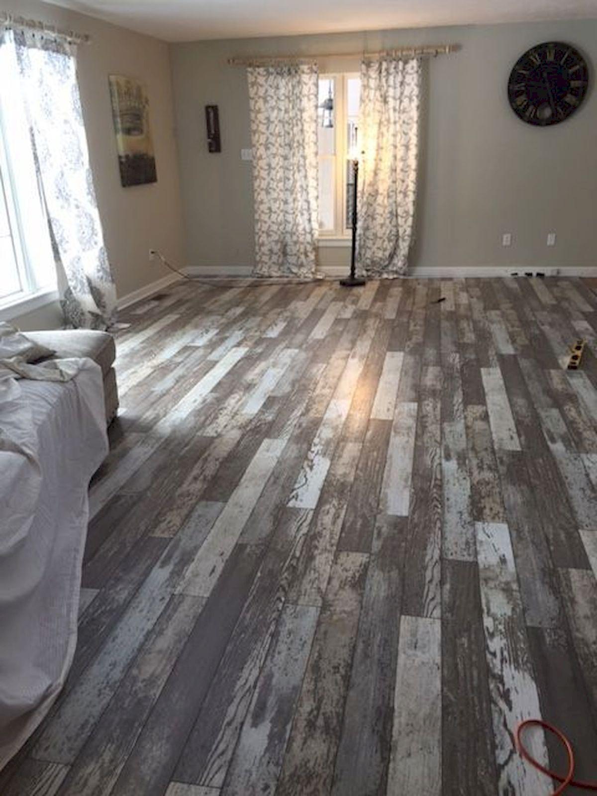 80 Gorgeous Hardwood Floor Ideas for Interior Home (25)