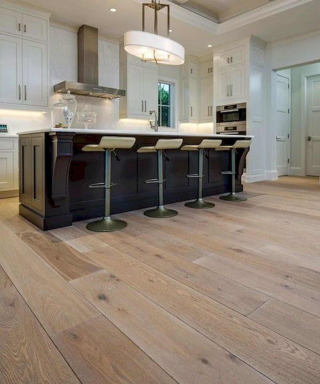 80 Gorgeous Hardwood Floor Ideas for Interior Home (27)