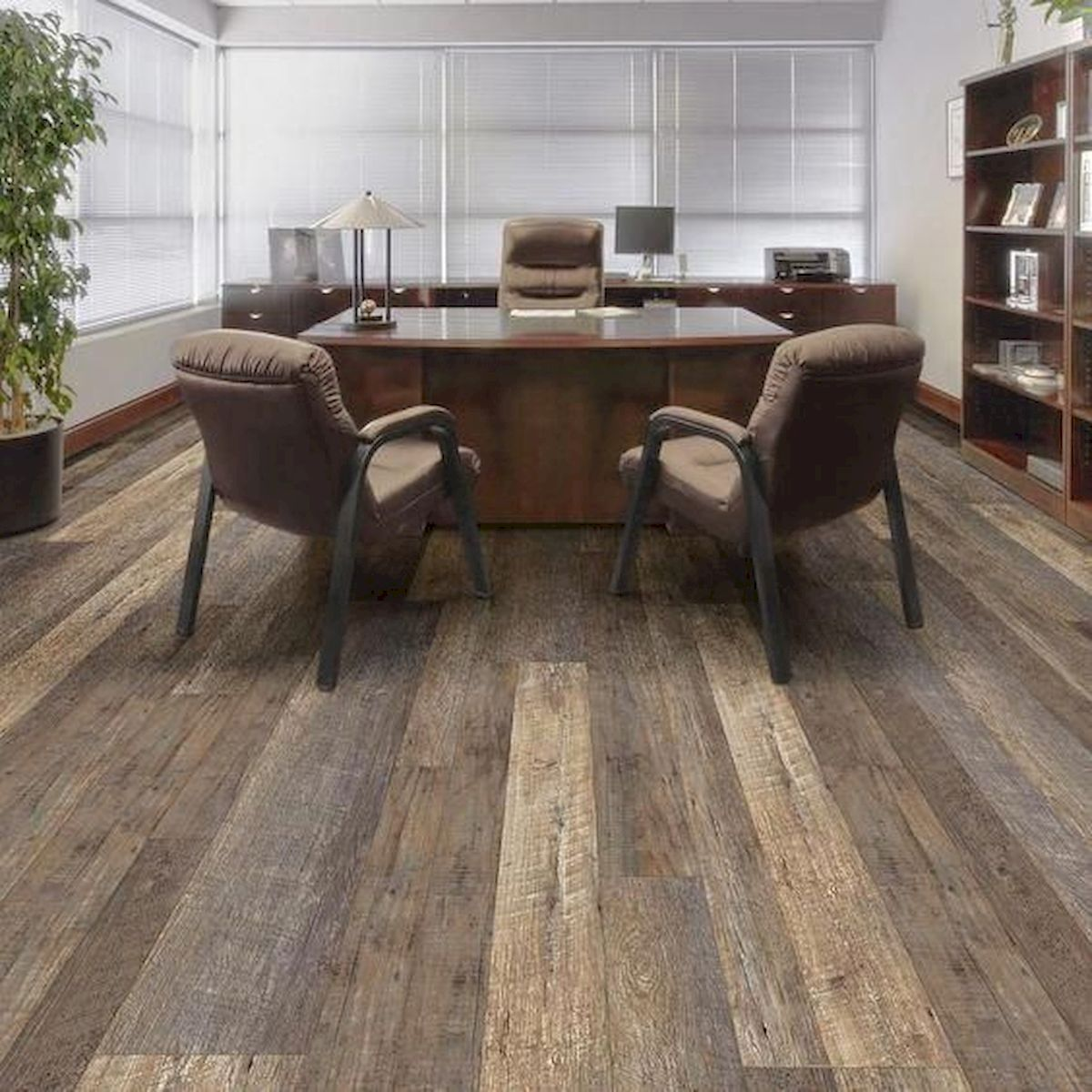 80 Gorgeous Hardwood Floor Ideas for Interior Home (28)