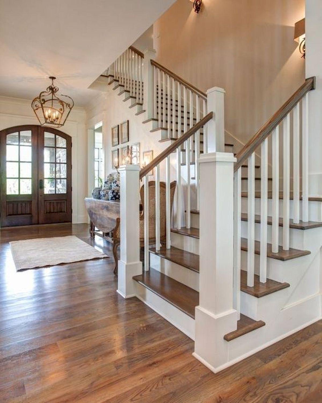 80 Gorgeous Hardwood Floor Ideas for Interior Home (32)